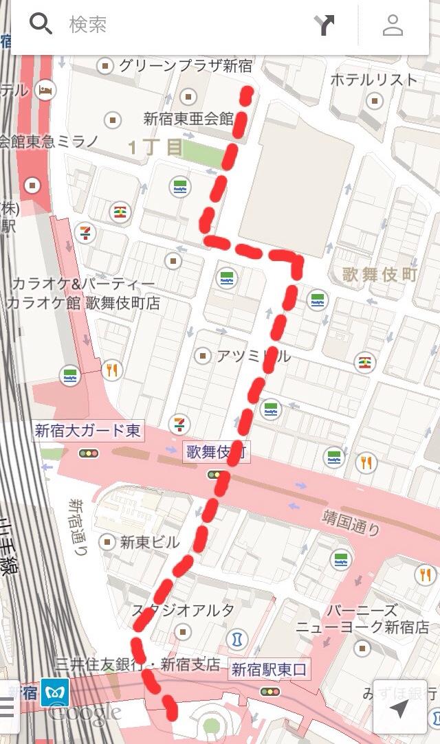 歌舞伎町ナンパスポット